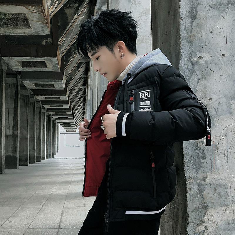 【双面可穿】男士冬季新款加厚棉服羽绒服