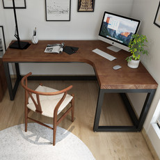 Ins Nordic solid wood corner desk home L-bedroom computer desk simple bedroom corner desk desk
