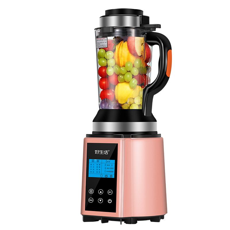 带蒸煮好生活TL7906YP家用加热搅拌机多功能豆浆智能辅食料理机