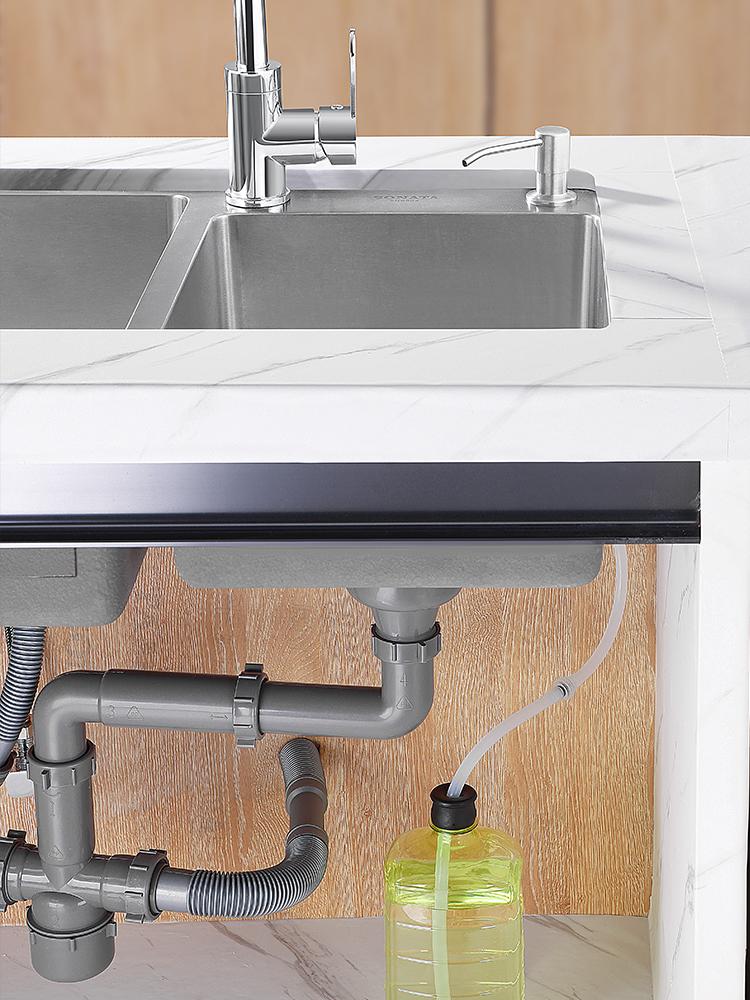 Sink dispenser Extension head Dish washer Dish washer detergent press bottle plus extension tube Pool pump Kitchen god