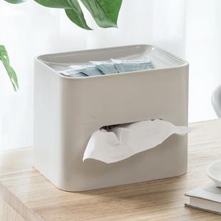 创意家用纸巾盒简约多功能餐巾盒