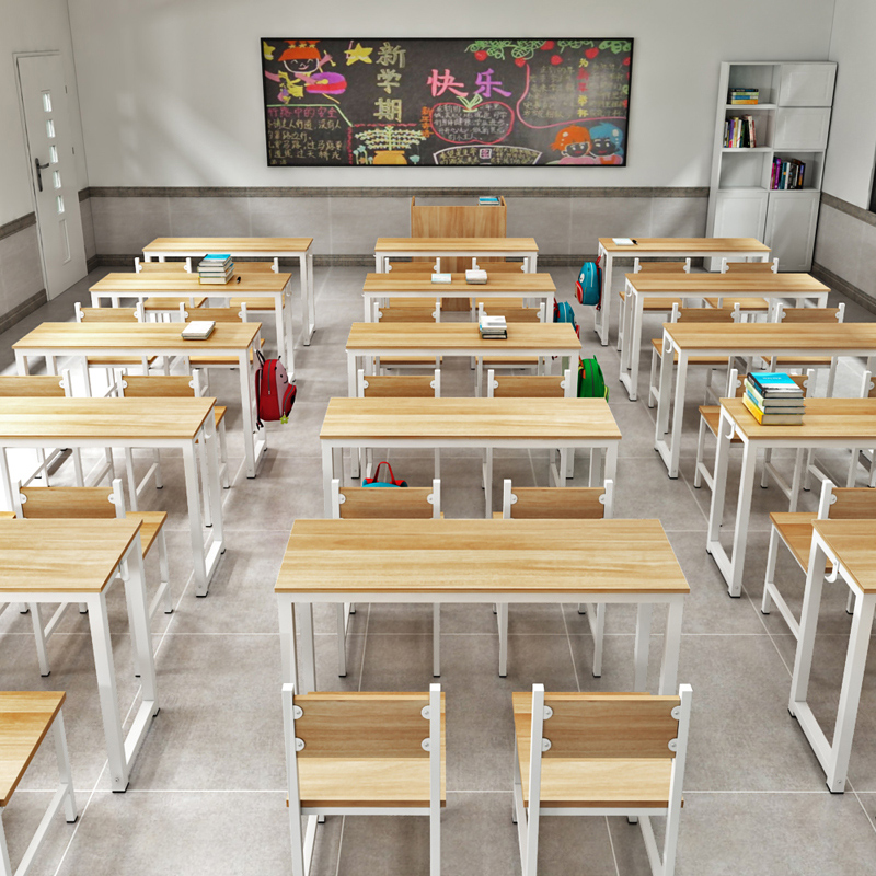 in elementary school desks and chairs manufacturers selling school remedial classes single double training desk and chair combination desk study table