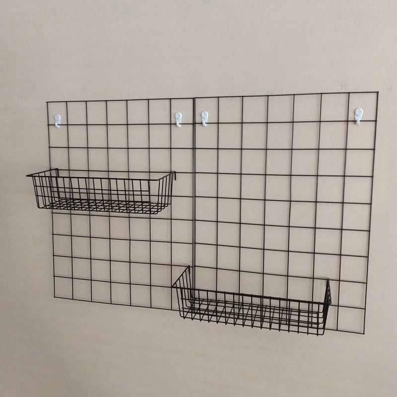 Сетка фото стена колыбель вешалка сети лист корзина квадрат полка дисплей на колыбель лоток стенды