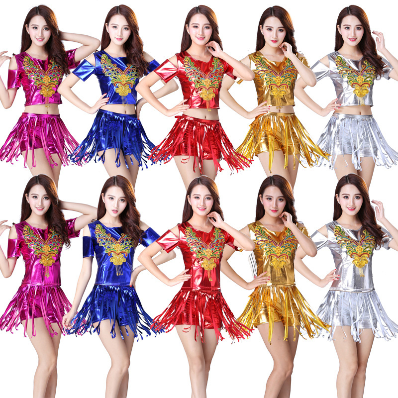 Dance suit Women's Adult Square Dance DS costume Dance Jazz Modern Dance Costume