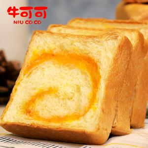 牛可可蛋黄夹心吐司手撕面包210g