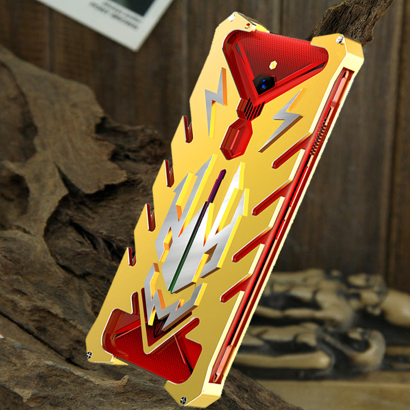 SIMON New THOR II Aviation Aluminum Alloy Shockproof Armor Metal Case Cover for nubia Red Magic 3