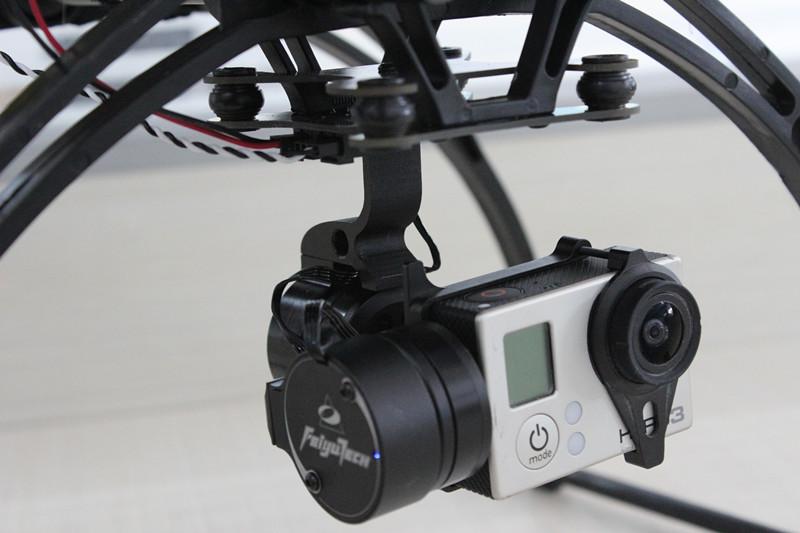 飞宇 G3云台(Gopro3两轴无刷云台)用于固定翼/多轴 四轴FPV摄影清仓惊喜价258元
