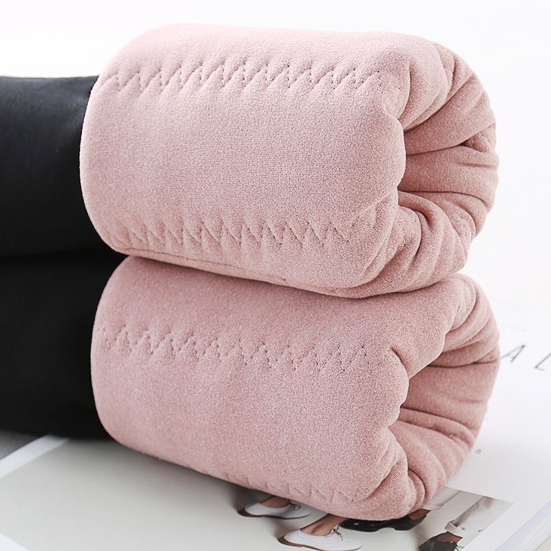 三层超厚女童加绒加厚打底裤外穿中大童冬季特厚儿童保暖棉裤子冬