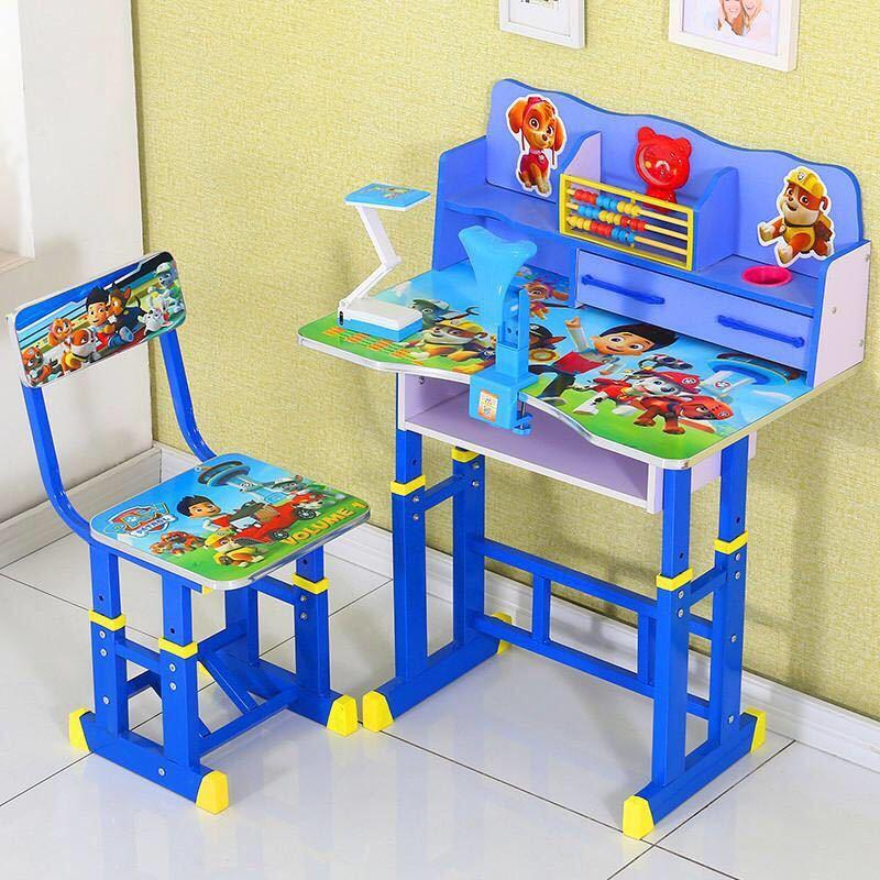 学习桌儿童课桌椅书桌椅家用课桌小学生写字桌椅套装书柜组合(家用课桌小学生写字桌椅套装书柜组合)