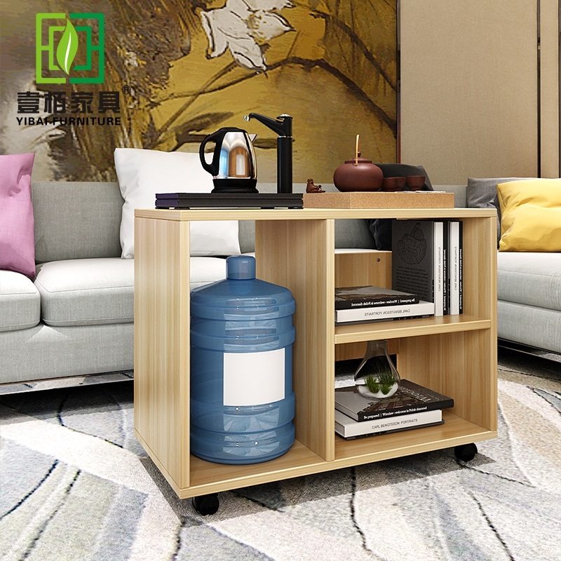 Kung Fu Small Coffee Table Simple Modern Creative Square Tea Cart Removable