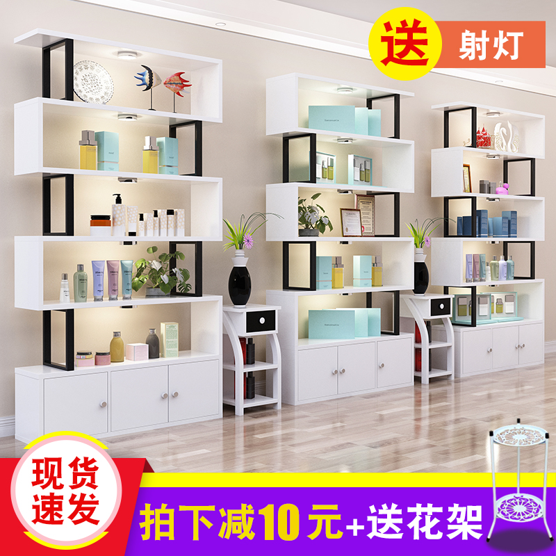 makeup wooden diy cabinet white shelf item modern organizer storage desk cosmetics wood for cosmetic box desktop