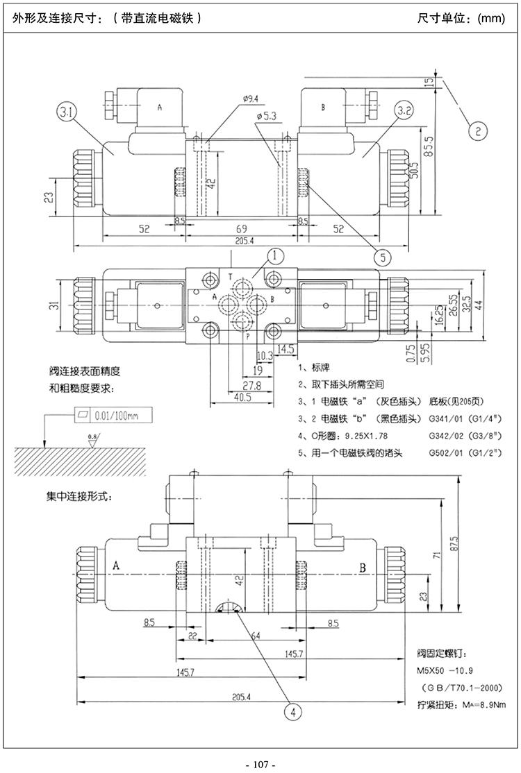 4we662 / eg24n9k4 Rexroth directional valve solenoid valve(图5)