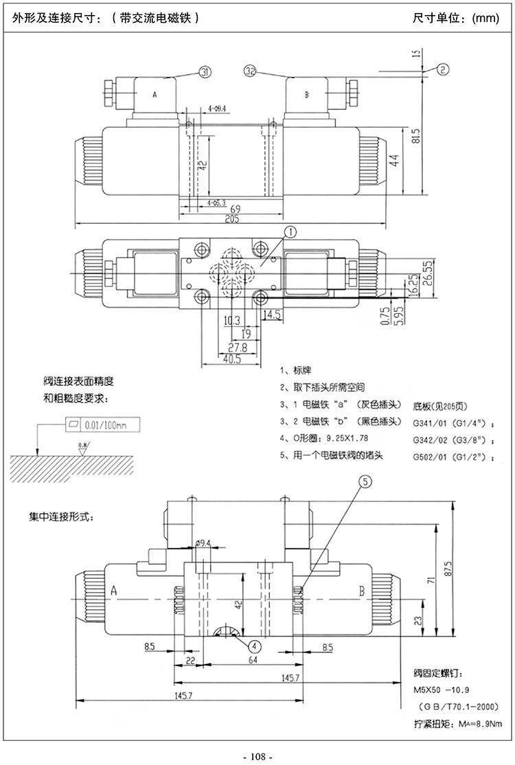 4we662 / eg24n9k4 Rexroth directional valve solenoid valve(图6)