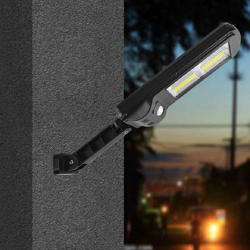 太阳能户外庭院灯超亮新农村照明路灯家用led智能防水人体感应灯