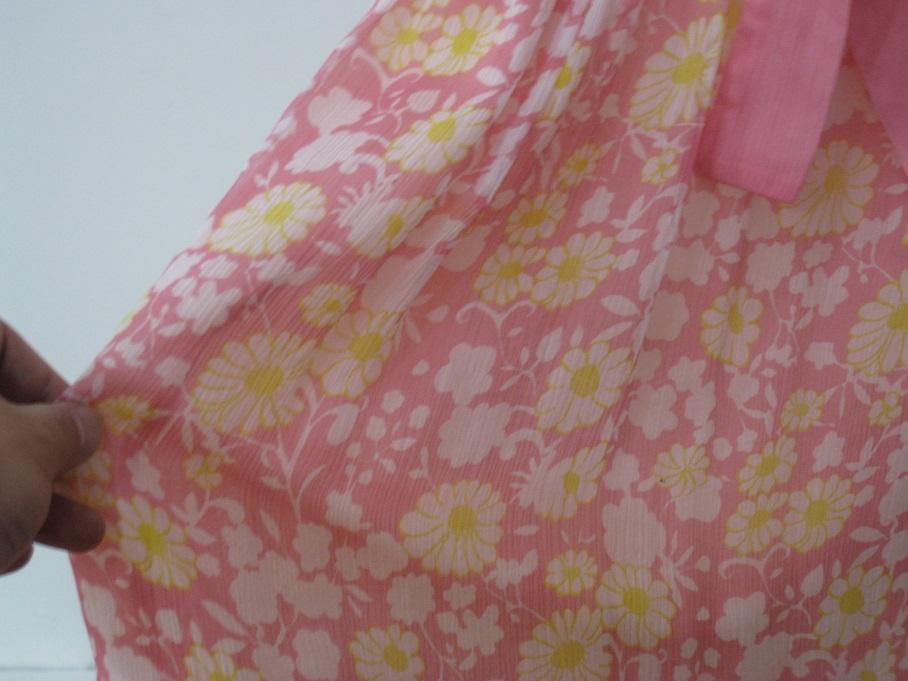 Женская одежда Гонконг покупки 5% от мах&Co розовый цветочный печати шелк платье 40, 44 кодекса