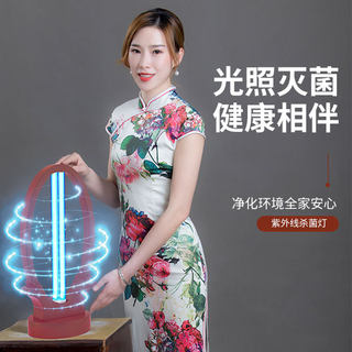 UV solid wood germicidal lamp