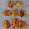 Akun natural beeswax stone drop pendant no event brand round beads bead safety pendant pendant Burma amber live