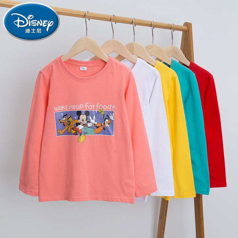 【迪士尼】儿童秋季纯棉薄款长袖