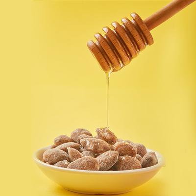 汤姆农场蜂蜜黄油扁桃仁网红巴旦木韩国进口大杏仁零食坚果15连包