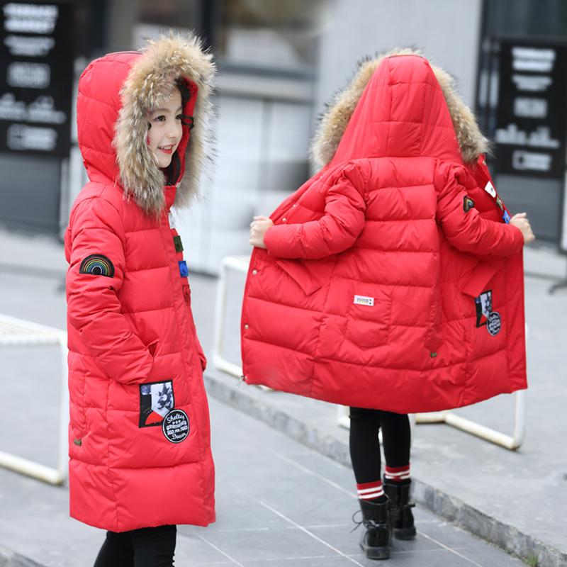 外套棉衣童女7十13青少年大女童装冬装14小学生女孩子棉袄12-15岁