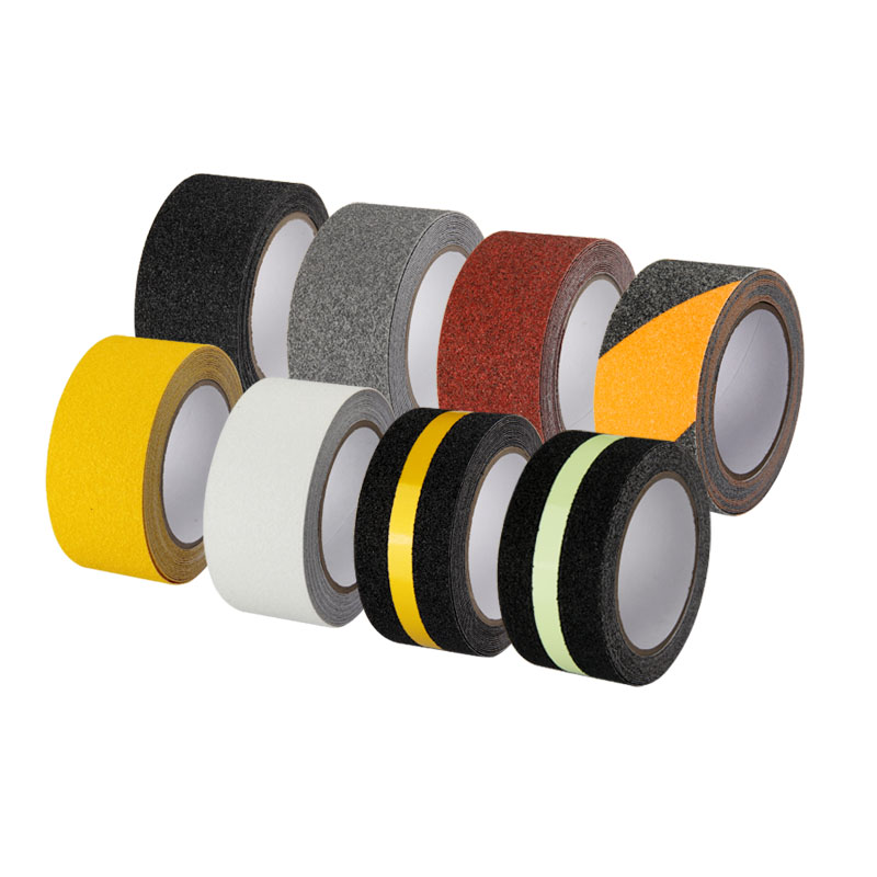 Stairs Step Self Adhesive Non Slip Adhesive Tape Frosted PET Non Slip Strips  Marble Tile Non Slip Adhesive Tape Waterproof