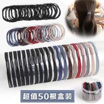 Rubber band female student Korean version of the hair ring female hair ornaments female small rubber band head rope female hair rope female hair ring female hair ornaments female