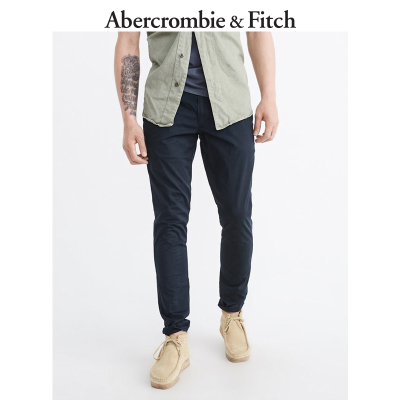 Abercrombie&Fitch Men's Tight khaki pants 165799 AF