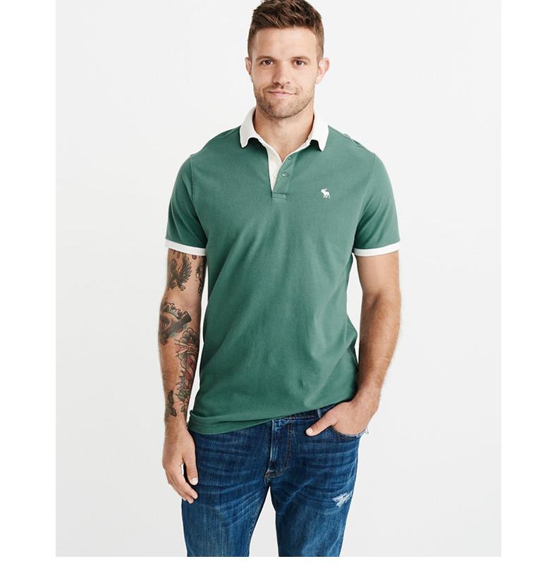 Biểu tượng đặc trưng theo mùa của người đàn ông Abercrombie & Fitch áo thun nam polo