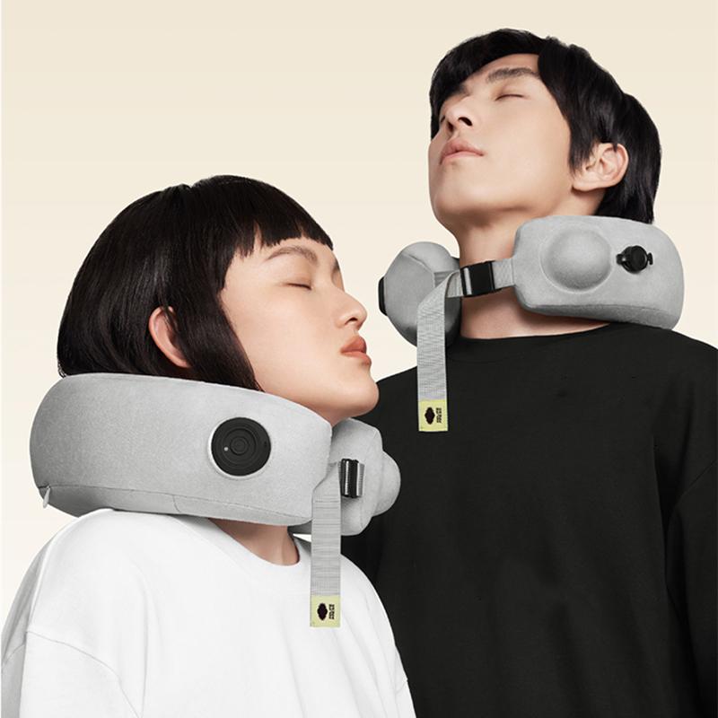 【双11预售】允宝颈椎按摩器电动充气颈部脖子肩颈腰部颈枕护颈仪