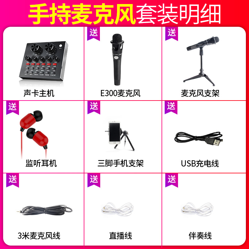 ☆ Dual Chip Bluetooth Version ☆ [send E300 Handheld Microphone Set.]