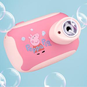 小猪佩奇吹泡泡相机棒不漏水抖音同款网红