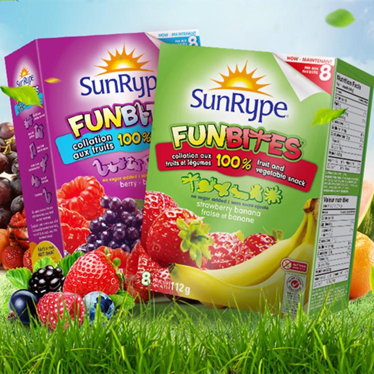 加拿大SunRype桑莱普水果条