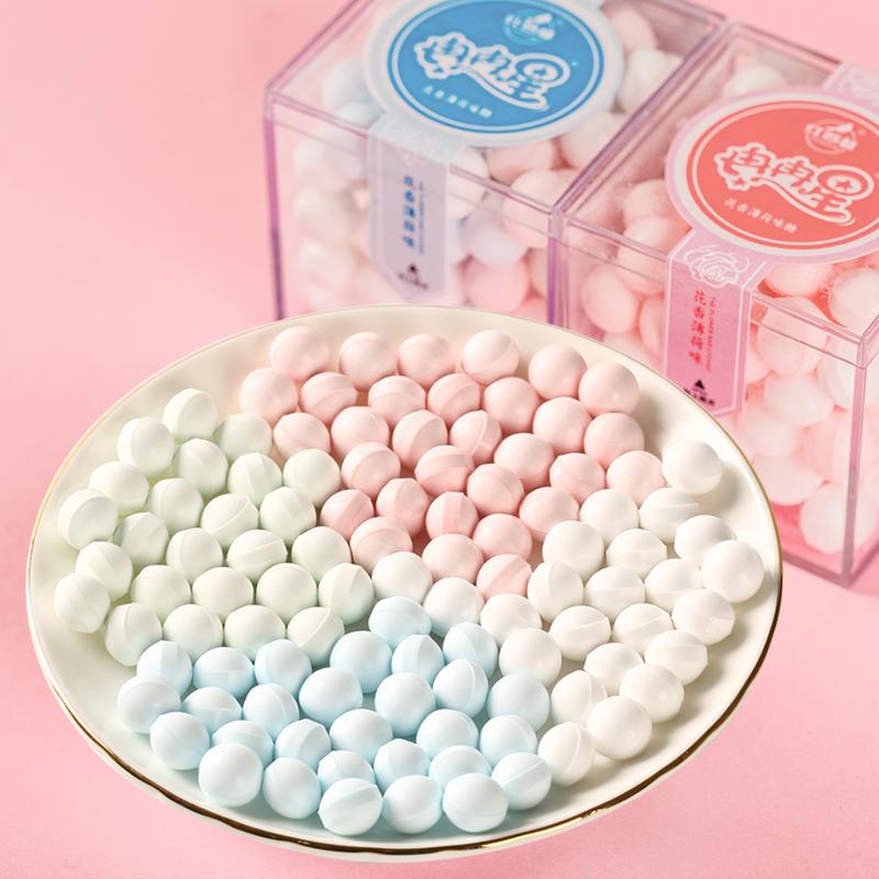 【热巴同款】红谷林玫瑰香体接吻糖礼盒装