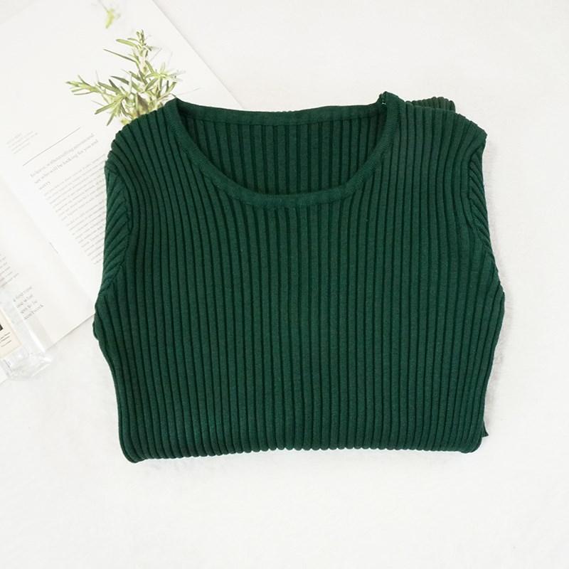 打底2018新款女韩版针织连衣裙中长款长袖修身包臀毛衣秋冬一步裙