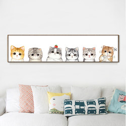 Cross stitch 2020 new thread embroidery living room cat bedroom children's room small small pieces simple embroidery yourself embroidery handmade