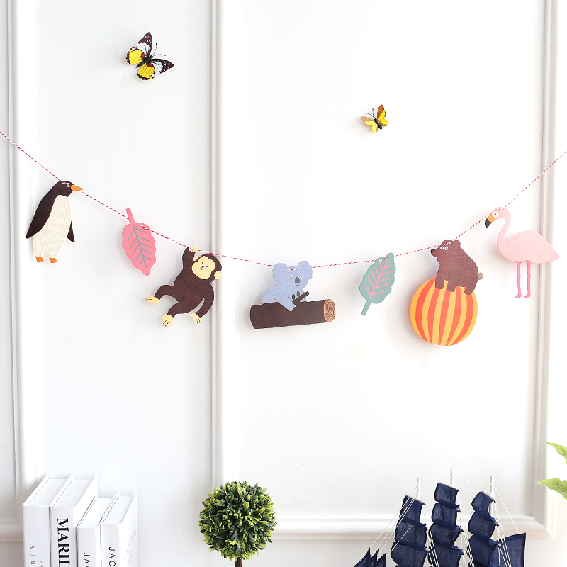 照片墙相框墙置物架悬挂相片墙麻绳夹子