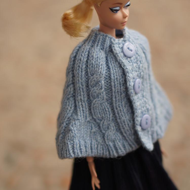 【娃衣高定】6分silkstone芭比娃娃手编小坎肩