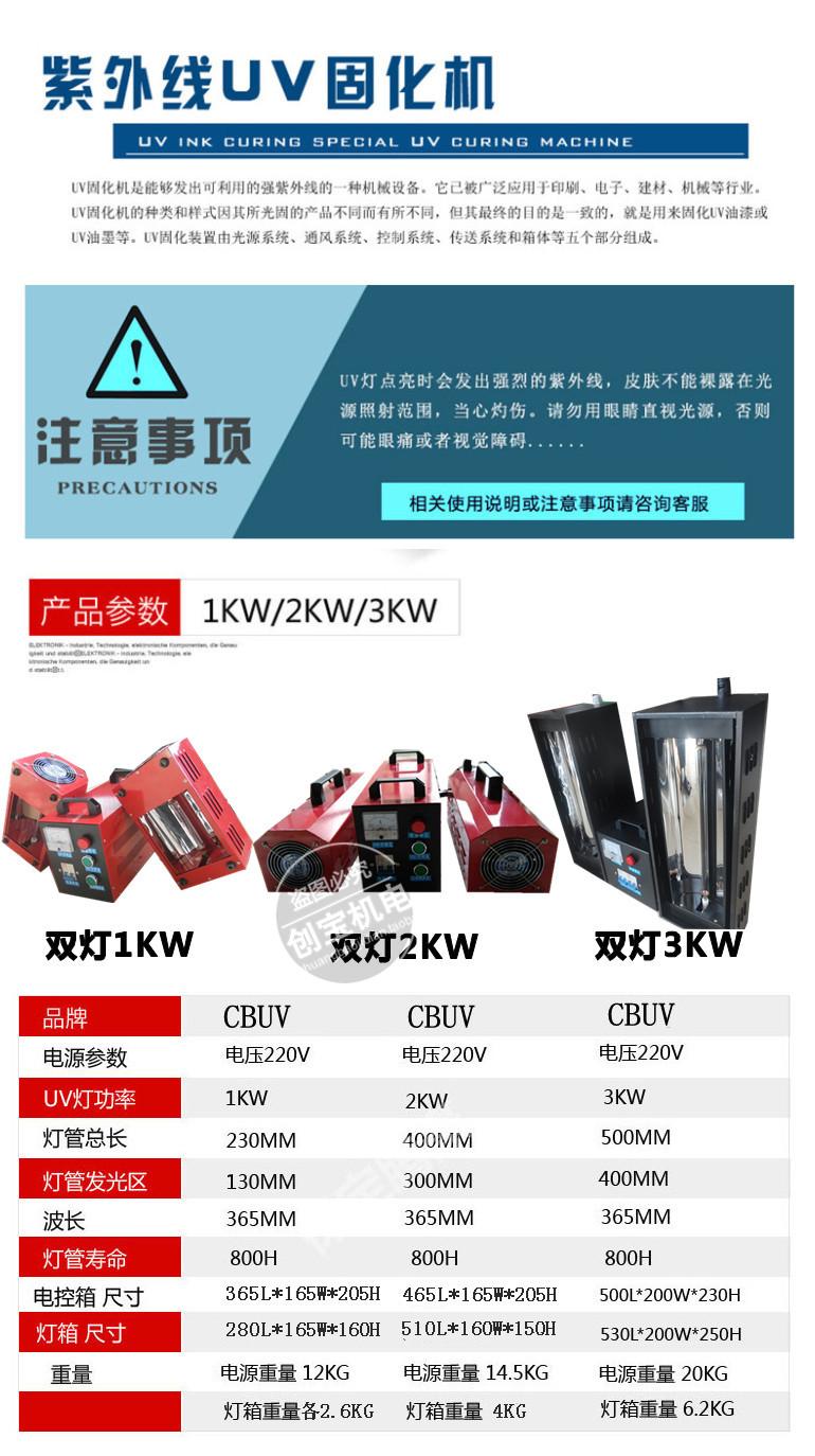 uv光固化机_1kw手提红外线/紫外线固化机汽车轮毂uv光固化机
