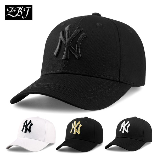 Hat men and women summer Korean leisure wild baseball cap tide student mesh cap black shade sun hat