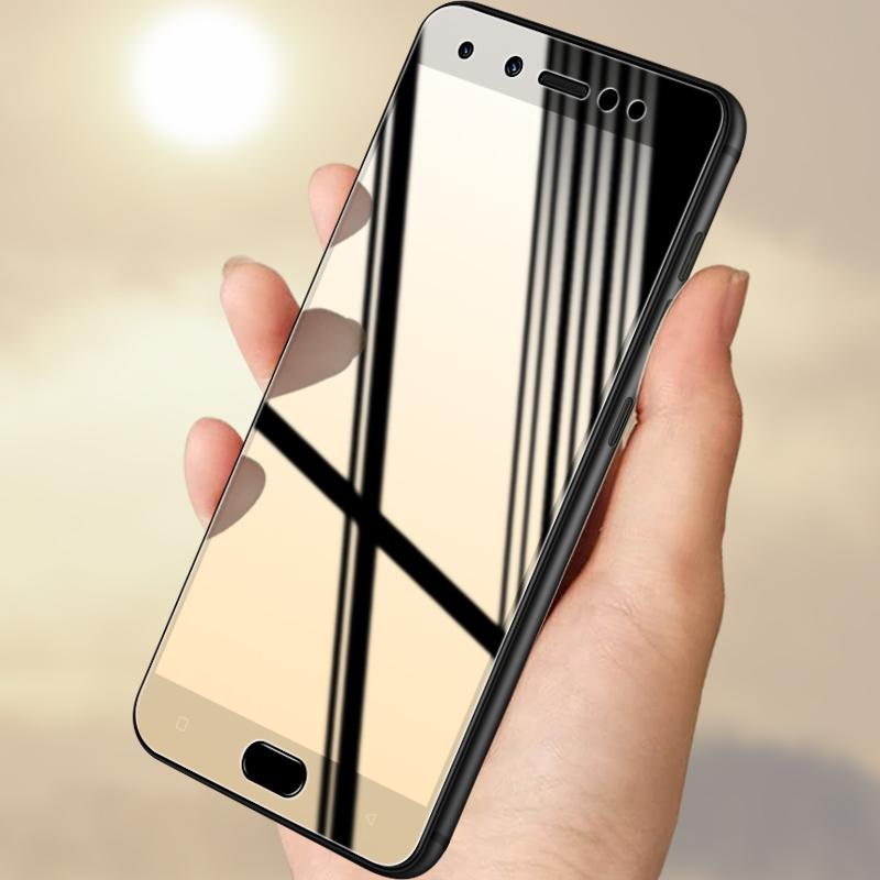 金立s10钢化膜 S10l手机膜全屏覆盖高清防指纹防摔玻璃贴膜3片装