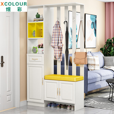 Entrance cabinet modern minimalist entrance screen decoration shoe cabinet one double-sided hall cabinet small apartment living room partition cabinet