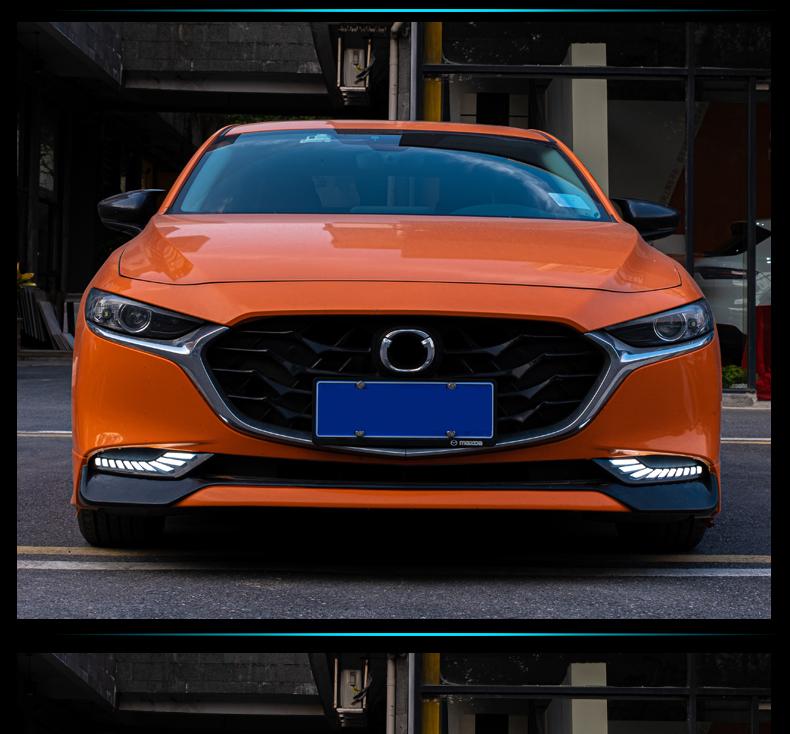Độ đèn led xi nhan Đèn cản sau Mazda 3 2020-2021 - ảnh 2