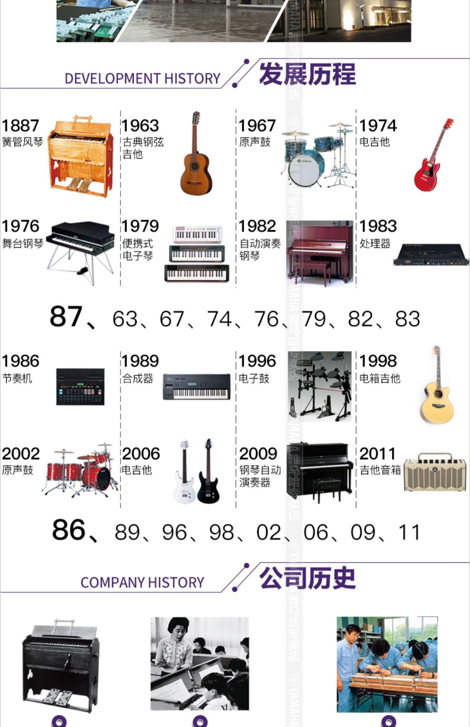 雅马哈电钢琴CLP-625立式高端家用成人专业考级88键重锤数码钢琴商品详情图