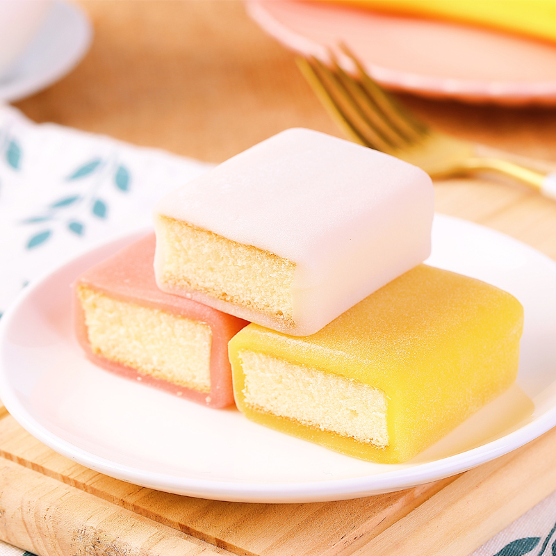 11月20日最新优惠【聪师傅】冰皮麻薯蛋糕420g