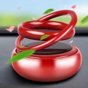 网红车载太阳能磁悬浮摆件装饰用品