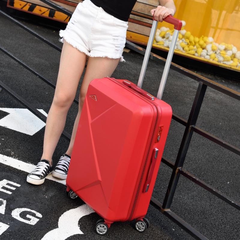 行李箱网红ins女20小型拉杆箱万向轮韩版男24寸密码旅行皮箱子潮