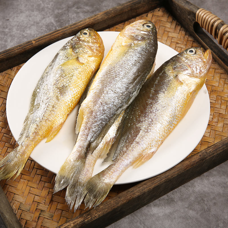 菜帮 新鲜船冻小黄鱼 净重3.5斤 天猫优惠券折后¥24.9包邮(¥69.9-45)