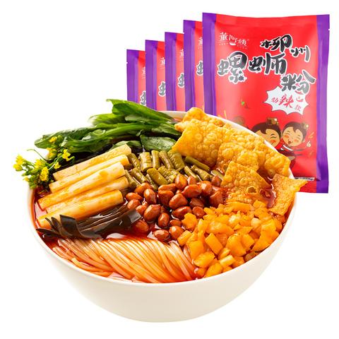 董阿姨柳州螺蛳粉广西螺狮粉5包正宗特产酸辣螺丝粉米线方便速食