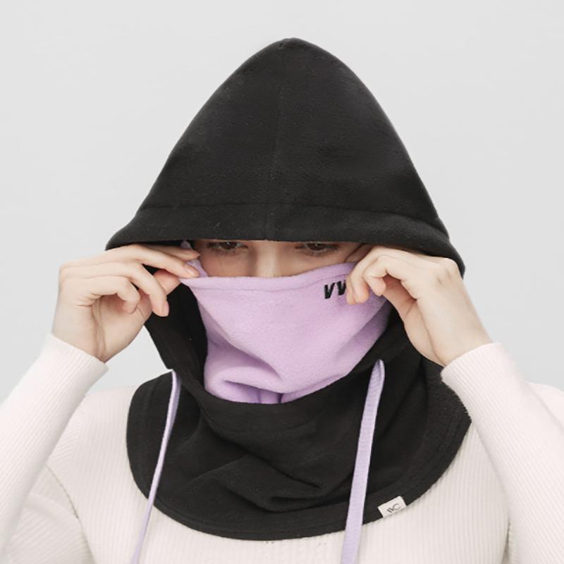 VVC口罩滑雪防风防寒骑行保暖头套帽子围脖一体男女冬季护脸面罩