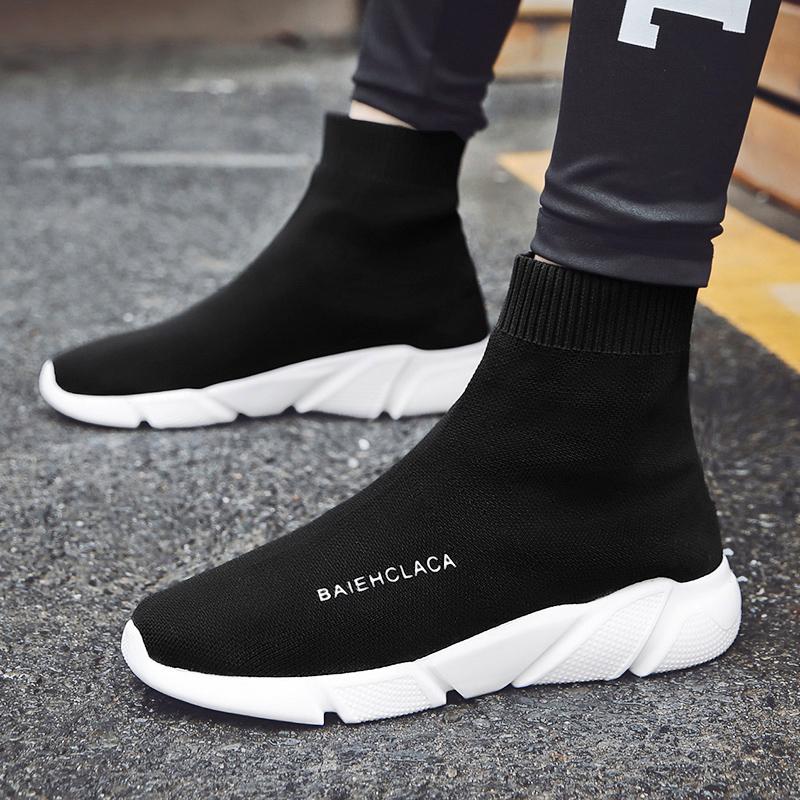 棉鞋鞋百搭韩版袜子潮流秋冬季a棉鞋加绒男鞋高帮情侣v棉鞋运动鞋